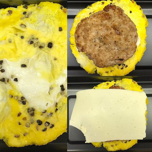 B.S. Sandwich___Scrambled egg & butcher