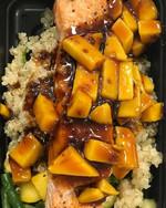 Mango Teriyaki Salmon___Roasted wild cau