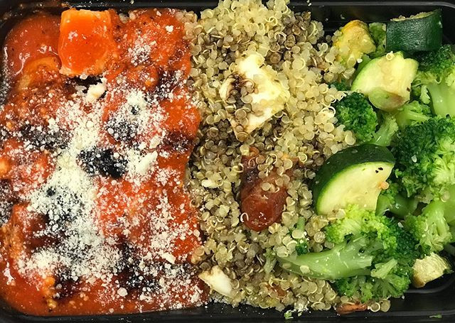 Romesco Chicken Caprese Quinoa___Roasted