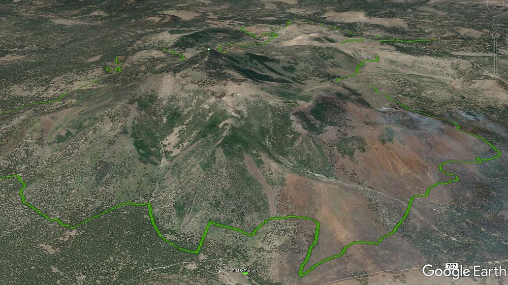 Kendrick Peak Wilderness Arizona Unit 7w