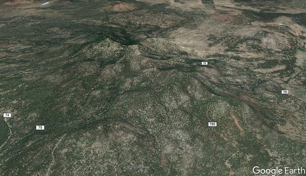 Sitgreaves Mountain Williams Arizona