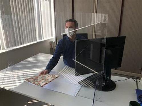 Ecran de protection, plexiglas 1150x800mm