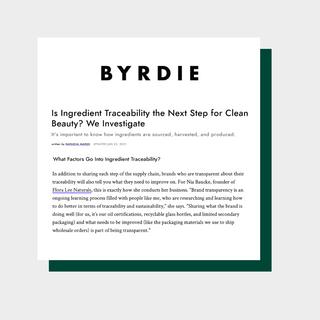 Byrdie | June 2021