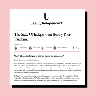 Beauty Independent   October 2020