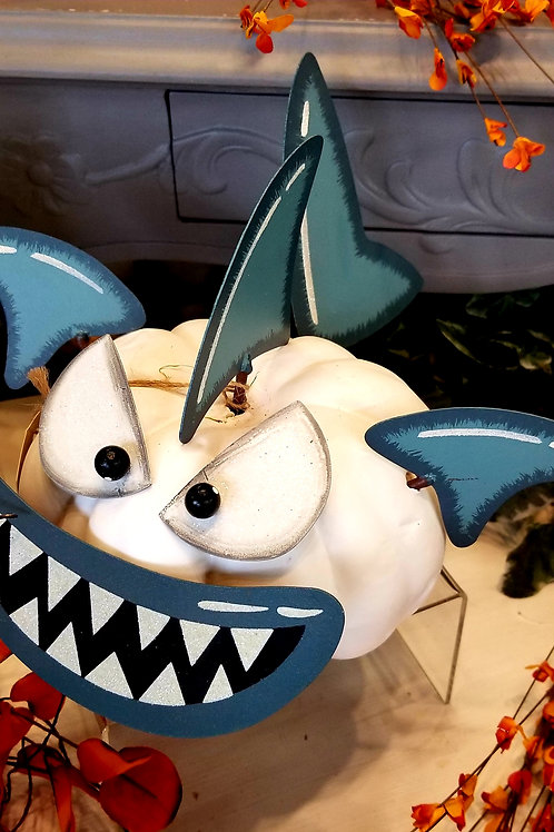 Shark Pumpkin Parts