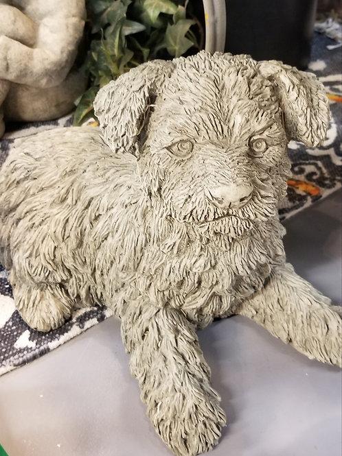 Mia Dog Statue