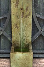 Dragonfly Single Spout Fountain Concrete