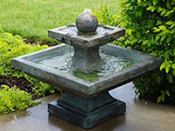 Equinox Fountain Concrete