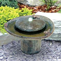Birds of a Feather Fountain Concrete