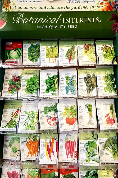 Seeds Organic Vegetables