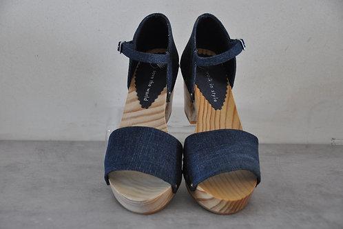 Heels, straight, jeans