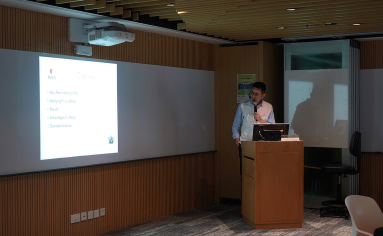 Sharing by Mr. Kevin CHEUNG, School of Continuing and Professional Studies of CUHK (CUSCS)