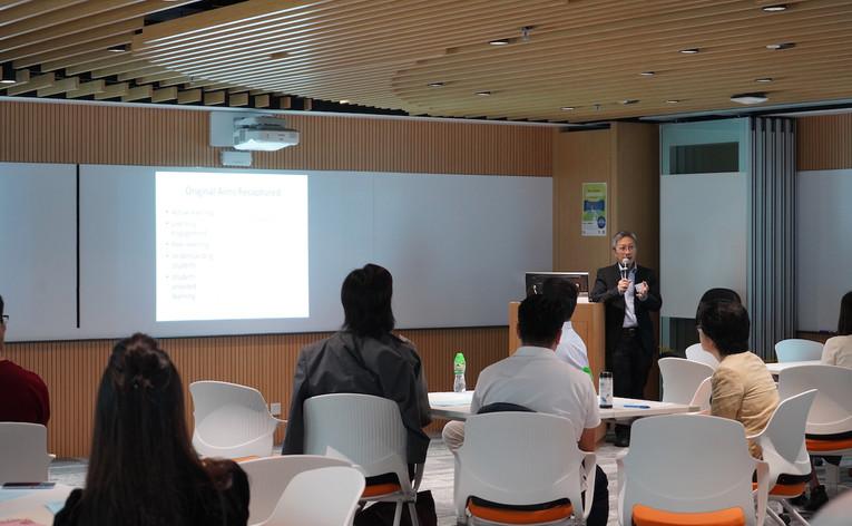 Welcoming Remark by Prof. Paul LAM, uReply Development Team, The Chinese University of Hong Kong