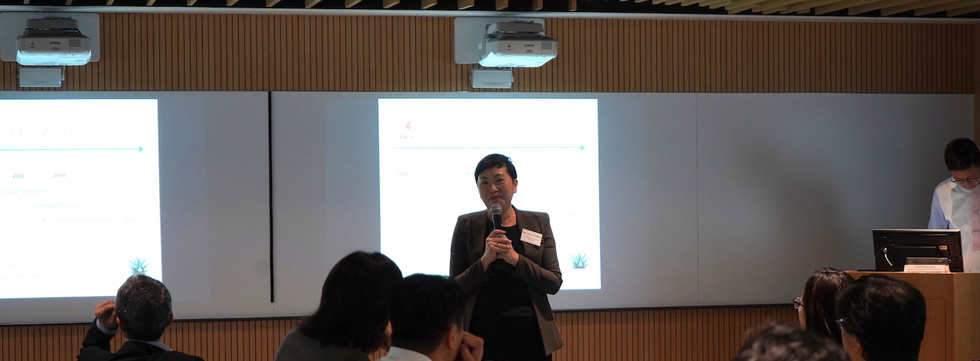 Sharing by Ms. Carrie CHENG, School of Continuing and Professional Studies of CUHK (CUSCS)