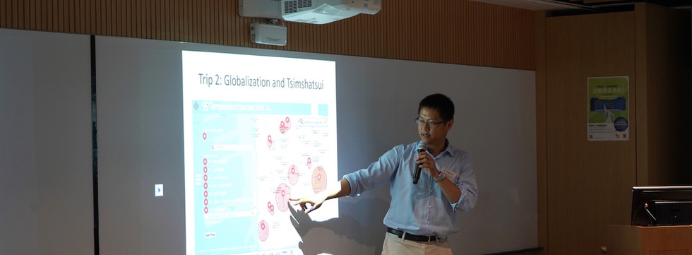 Sharing by Dr. Ken LEE, The Chinese Univrsity of Hong Kong