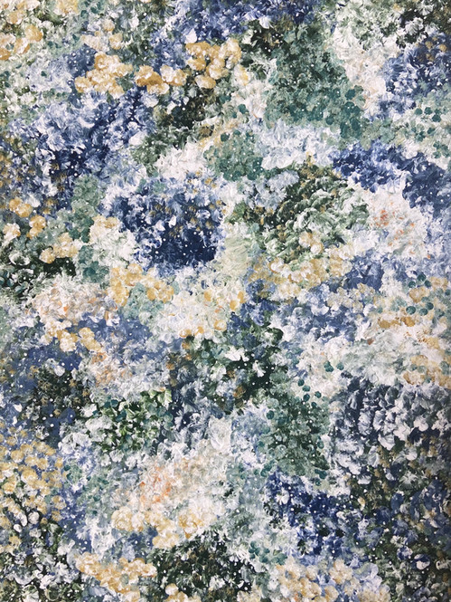 Gulvial flower meadow