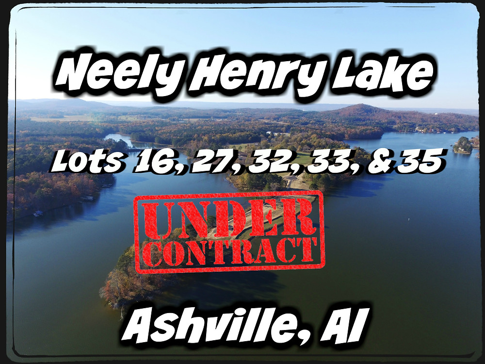 If you're thinking about buying a lake lot. These lots are going quick. Grab yours today.