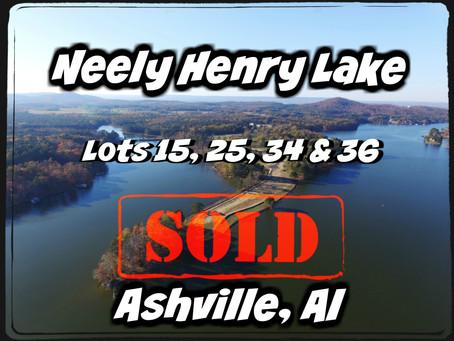 SOLD! LAKE LOTS ALREADY CLOSED