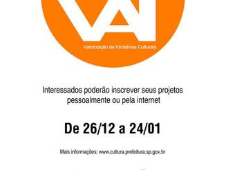 Programa VAI tem inscrições abertas até 24 de janeiro