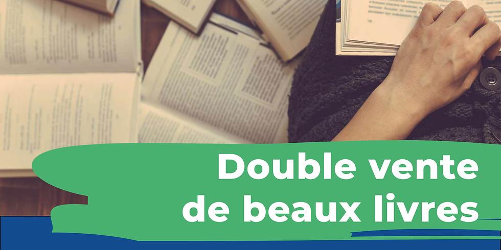 Double vente de beaux livres