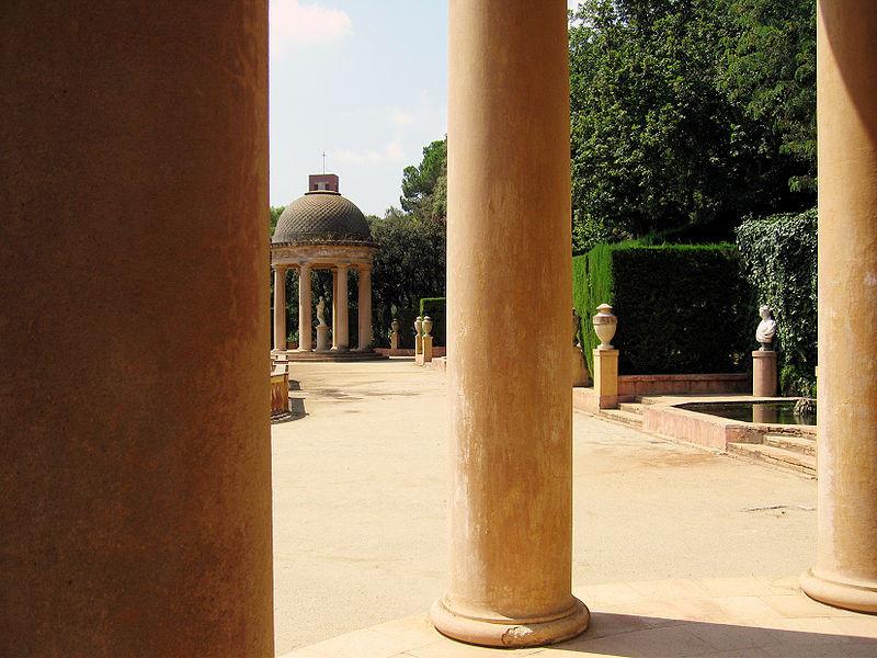 Parc del Laberint d'Horta in Barcelona