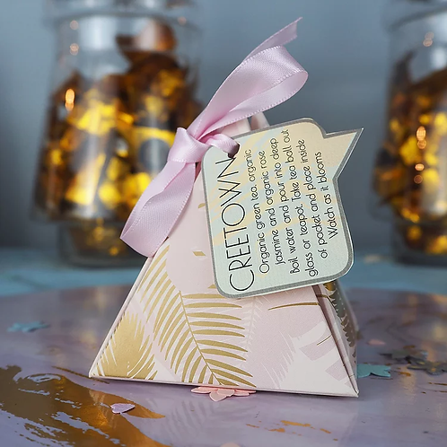 Blooming tea gift box