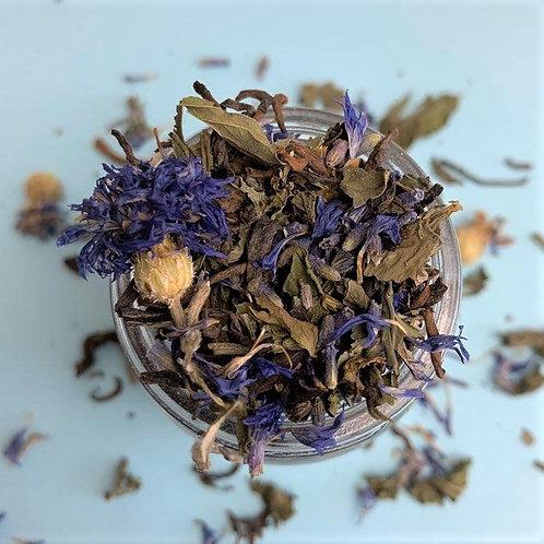 mint tea lavender organic premium loose leaf teabags spearmint peppermint relaxing black tea puerh