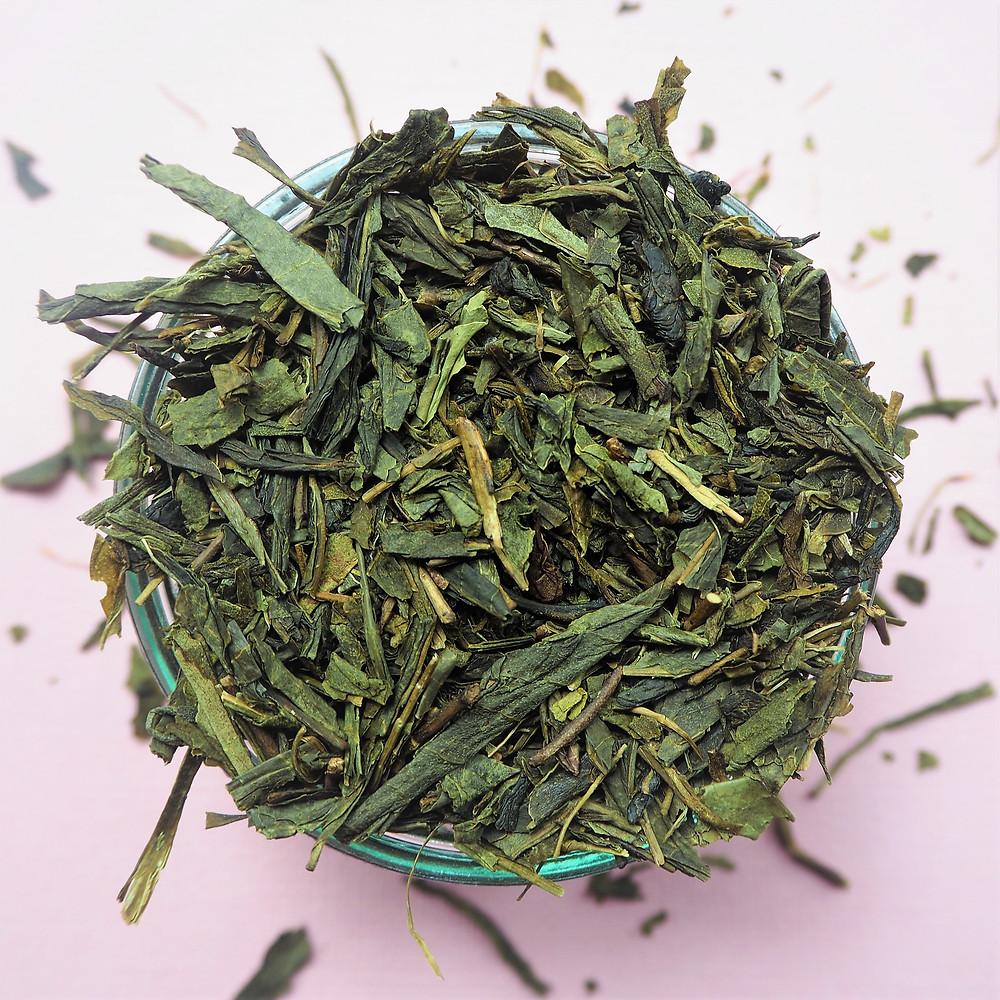 St Julien Tea organic sencha green tea loose leaf teabags