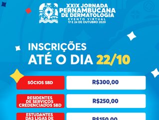 17/10 - PRIMEIRO DIA DA JORNADA 2020