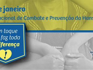 Dia Mundial de Combate e Prevenção da Hanseníase