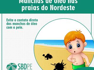 Proteja sua pele! Orientações importantes sobre as manchas de óleo encontradas nas praias do Nordest