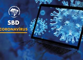 SBD coloca no ar página em que concentra informações oficiais sobre o coronavírus