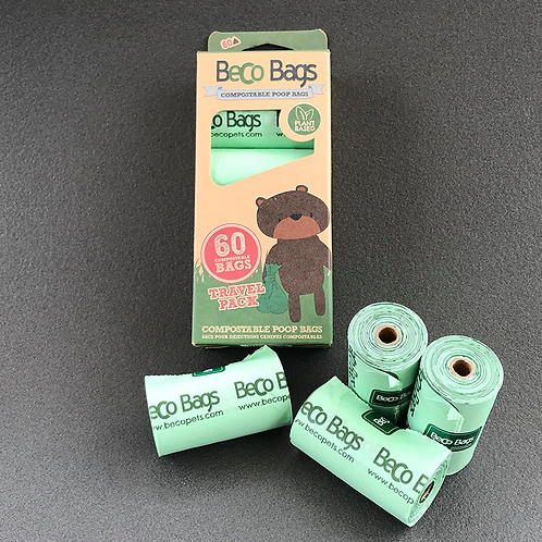 Beco Compostable Poop Bags (60)