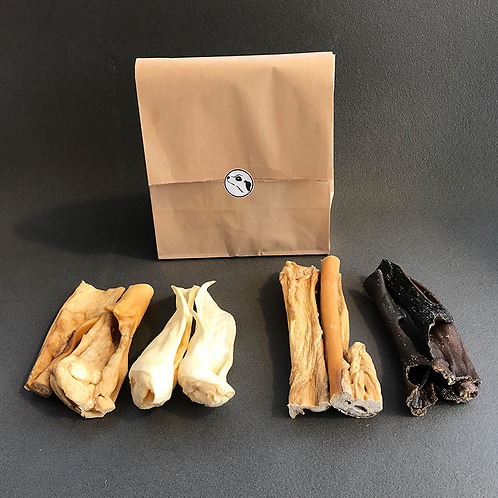 Goodie bag! (a variety of dog chews)