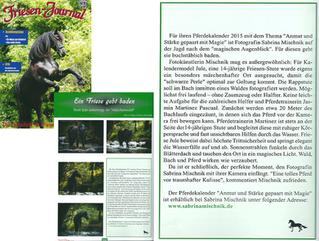 Artikel über mich im Friesen Journal