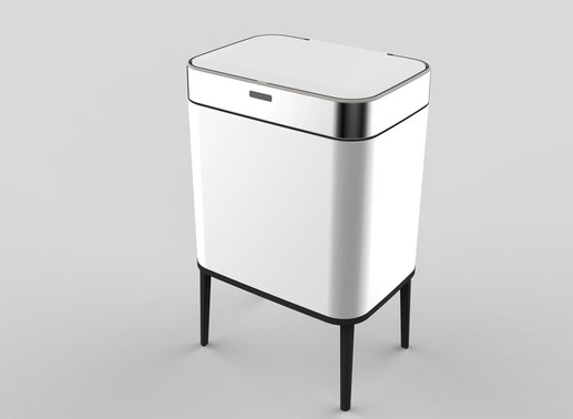 פח אוטומטי מעוצב צבע לבן.jpg