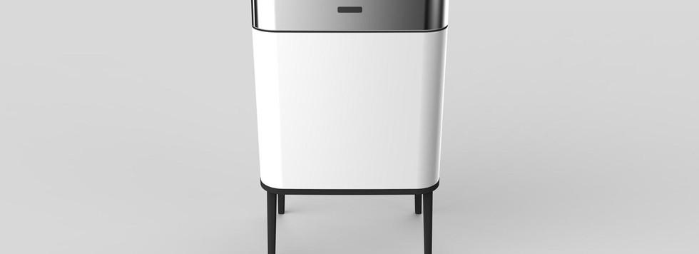 פח אוטומטי מעוצב צבע לבן חזית.jpg