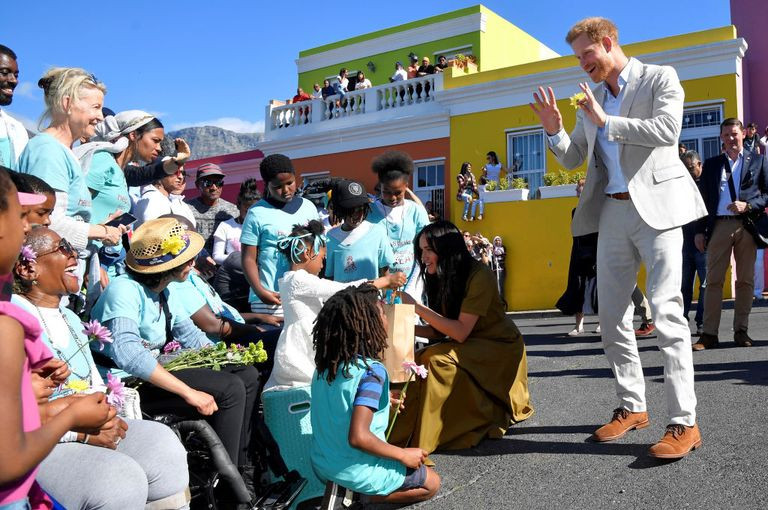 Harry & Meghan shared stories of courage in Cape Town, with teh bravest little recovery warriors www.beingbrave.org