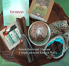 brave cleanse kit with natural therapies and natural medicines