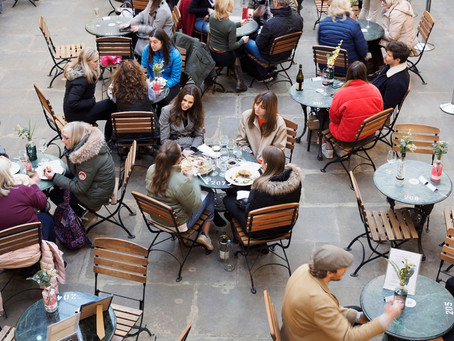 How Partitions Are Helping Local Restaurants Stay Open