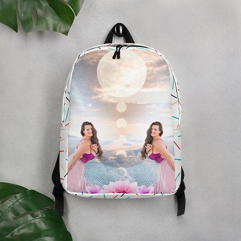 Gemini Full Moon Minimalist Backpack