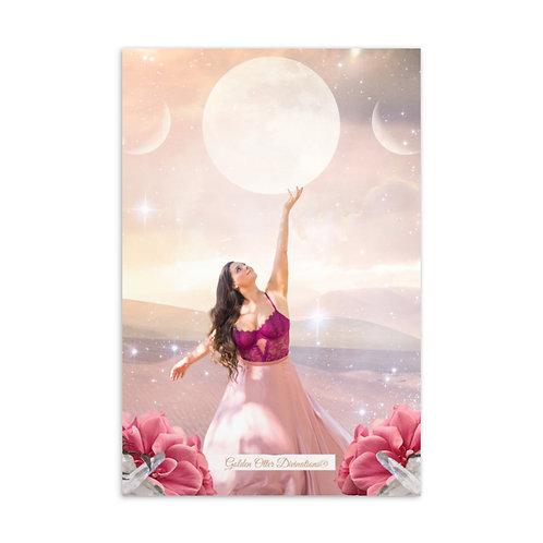 Scorpio Full Moon Standard Postcard