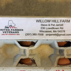 36/37. Willow Hill Farm Eggs Gift Certificate