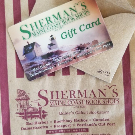 32. Gift Certificate to Sherman's Bookstore