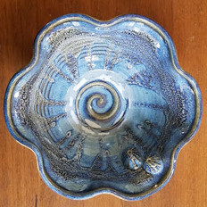 """19. 6"""" Anne Hedgecock Pottery Bowl"""