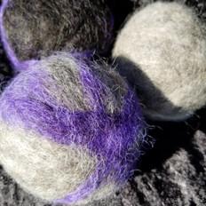 6/7. Felted Wool Dryer Balls (Set of 3)