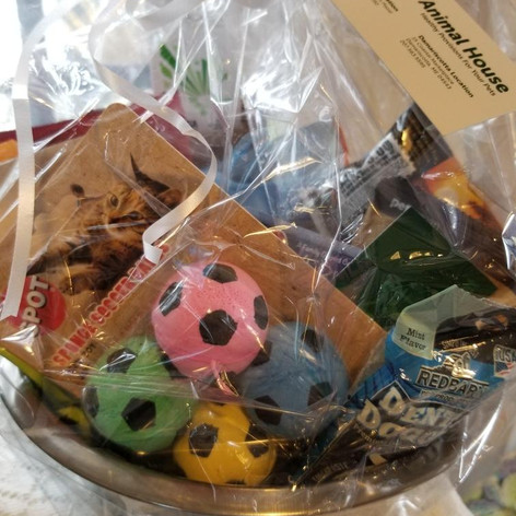 30. Gift Bowl of Pet Treats