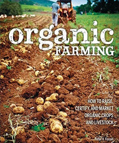 21. Signed Copy of Organic Farming by Peter Fossel