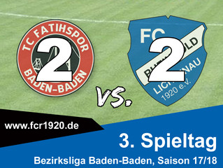 TC Fatihspor Baden-Baden : FC Rheingold Lichtenau 2:2 (0:0)