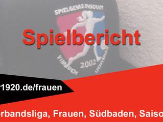 FC Wolfenweiler-Schallstadt – SG Vimbuch-Lichtenau 1:2 (1:0)